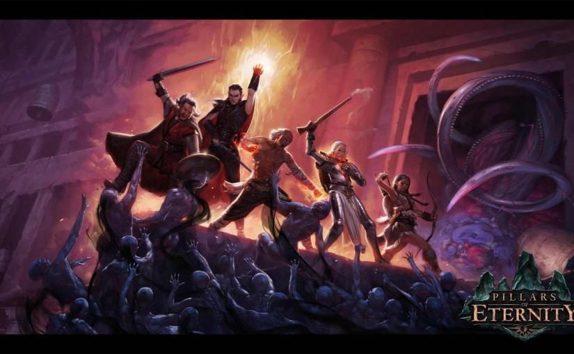 Pillars of Eternity Character Creation: Adonan, Aumaua Fighter and Quoril Yogsword, Pale Elf Priest