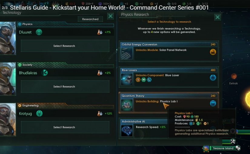 #Stellaris #Research #Guide for #New #Players @StellarisGame