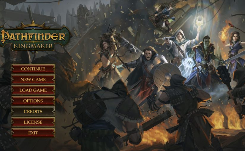 Pathfinder Kingmaker Roleplaying Game Sensation Dungeons And Dragons
